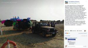 ambulanti cacciati spiaggia salve