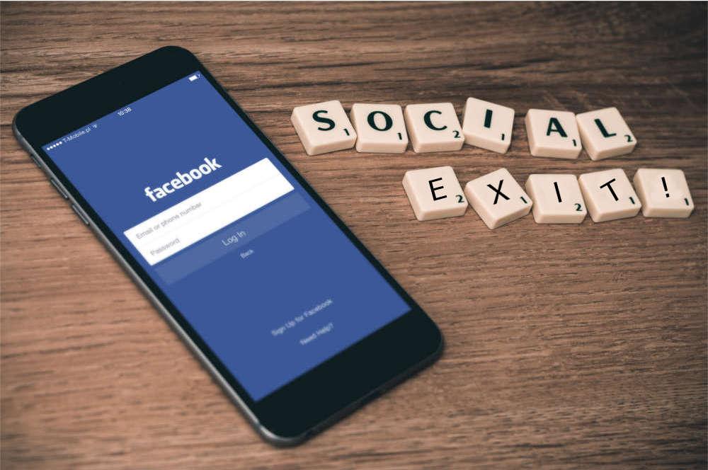 facebook social exit