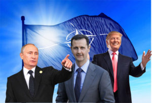 putin assad trump Usa e Russia