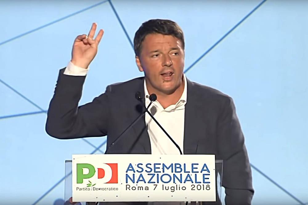 Renzi Assemblea PD