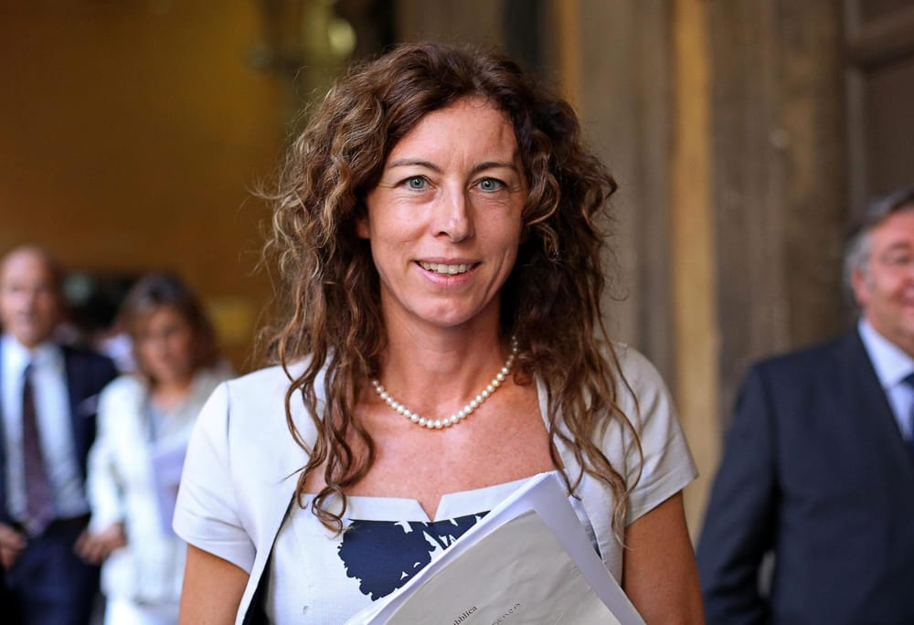 Erika Stefani, che si è battuta per presentare la Proposta di Legge in tempi brevi al Consiglio dei Ministri e al Parlamento italiano