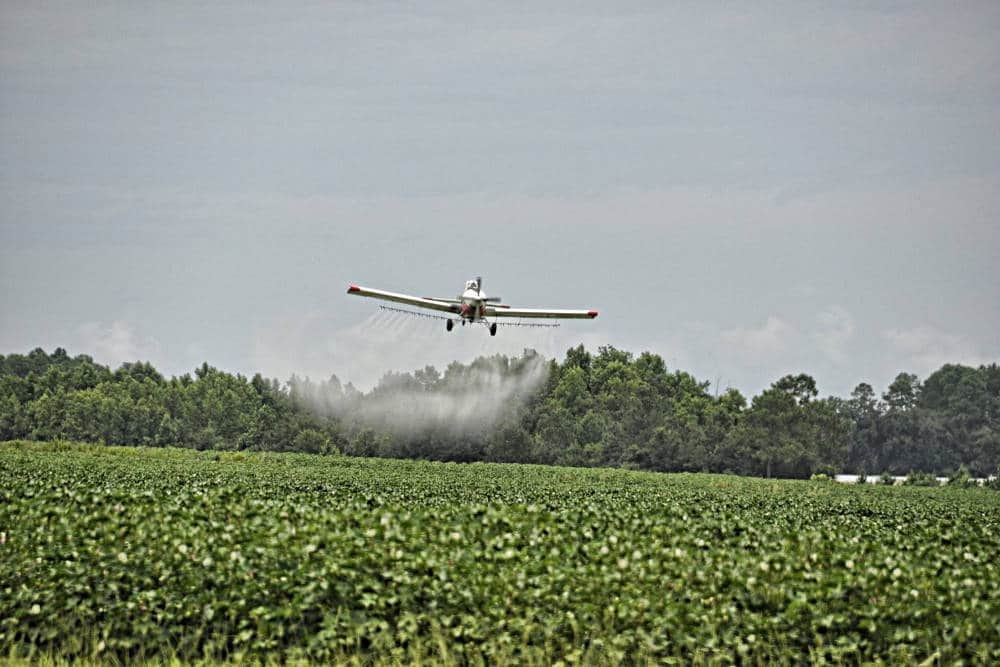 pesticidi aeroplano