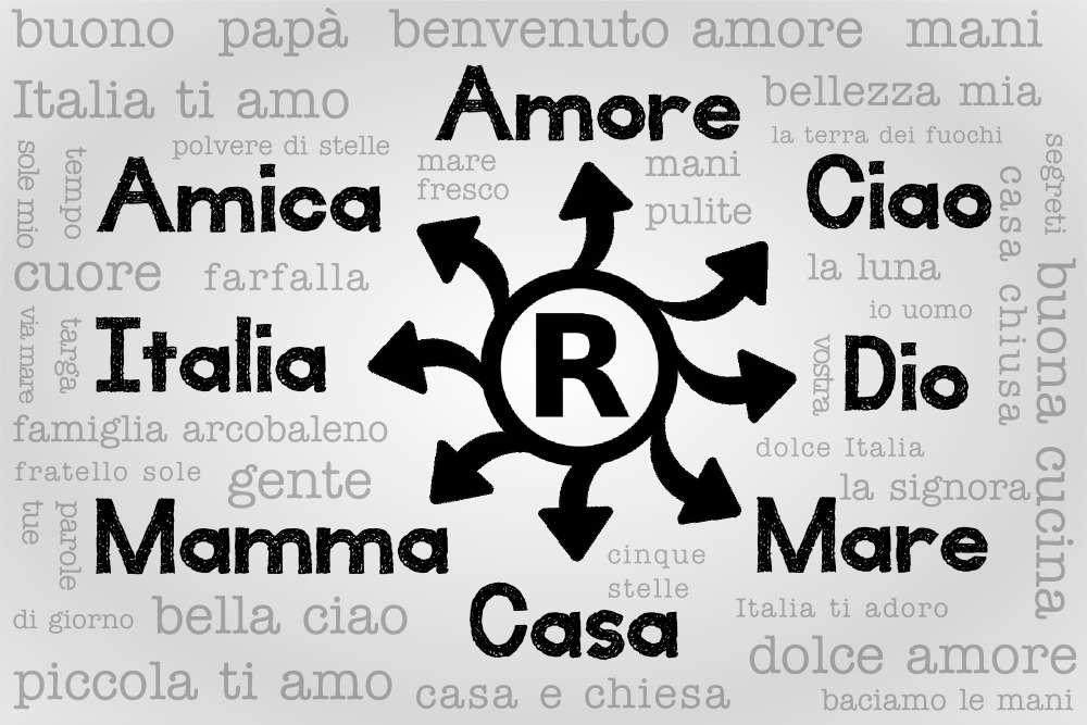 parole comuni marchio registrato