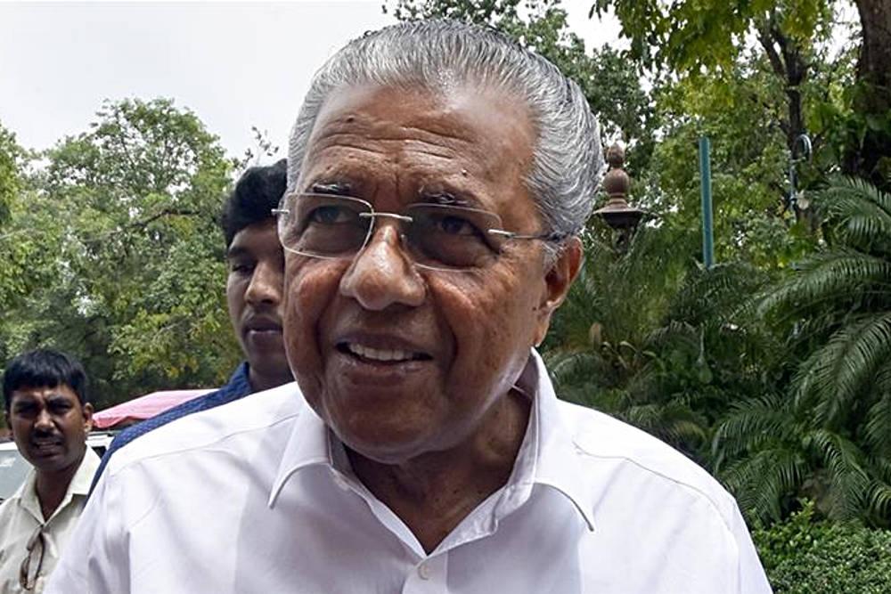 Primo Ministro del Kerala Pinarayi Vijayan