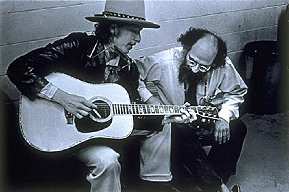 Allen Ginsberg e Bob Dylan