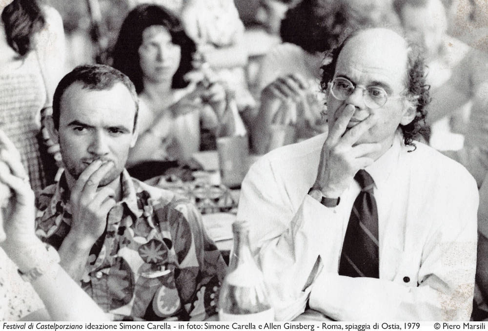 Allen Ginsberg a Castelporziano