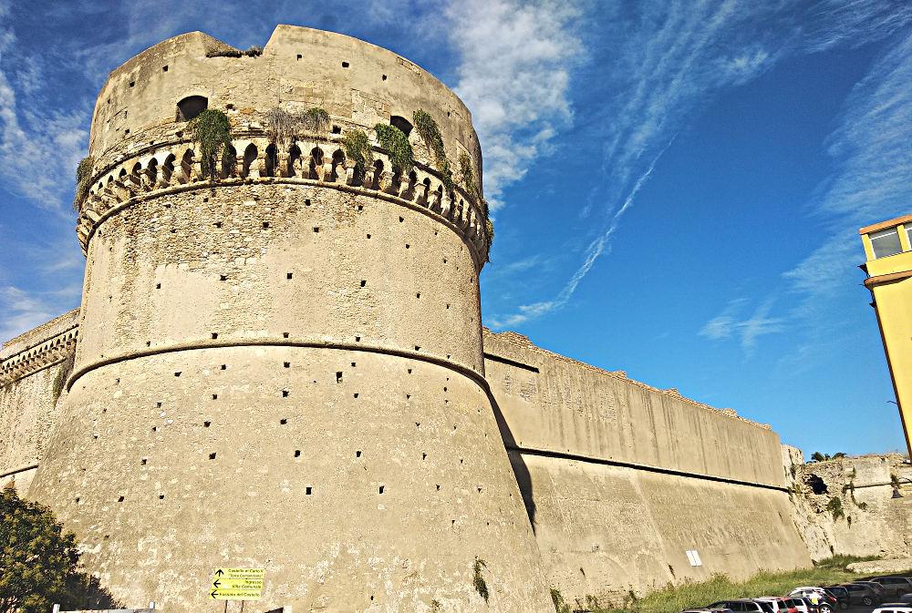 Crotone, castello Carlo V