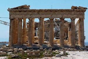 Partenone Atene - Democrazia e lotta di classe