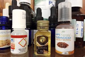analisi dei liquidi tabaccosi di vari marchi