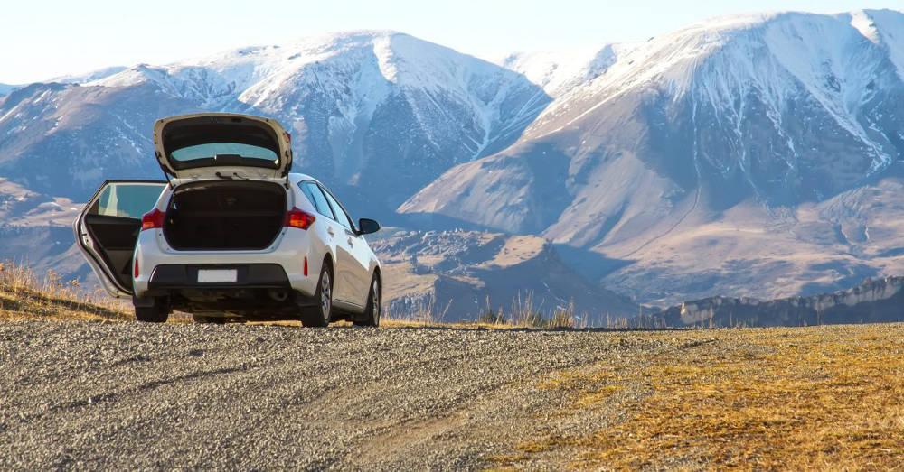 l'uso dell'auto in montagna